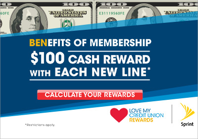 Sprint Love My CU Rewards