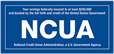 Federally Insured by NCUA Logo