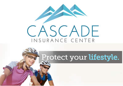 Couple wearing bike helmets-Cascade Insurance Center, protect your lifestyle