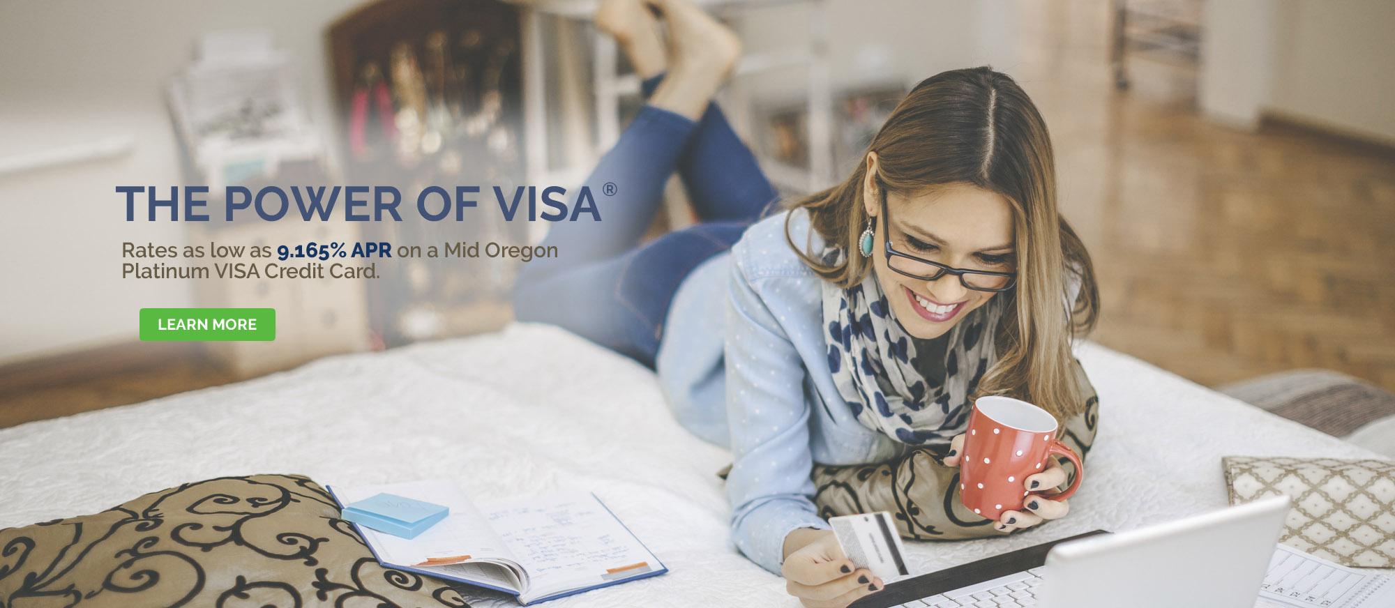 VISA Credit Card Promotion